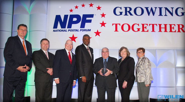 wilen wins 2015 usps mail innovation award at npf